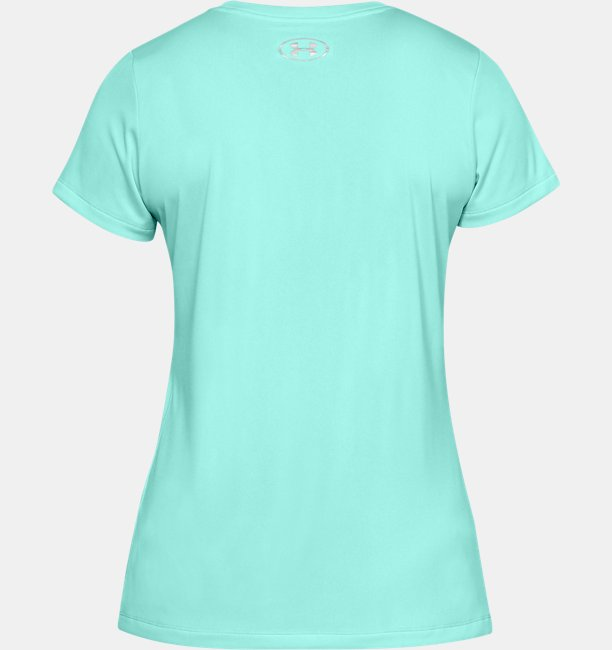Womens UA Tech™ Wordmark Graphic Short Sleeve