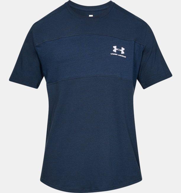 남성 UA 스포츠스타일 에센셜 티셔츠