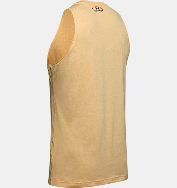 Mens UA x Project Rock Cut-Off Tank