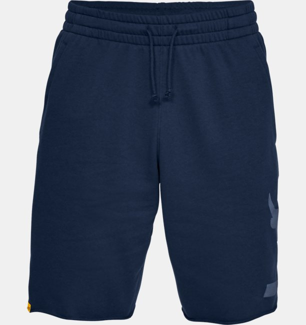 Shorts UA x Project Rock Terry para Hombre
