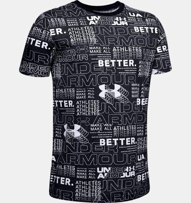 Camiseta UA Perpetual Printed Infantil Masculina