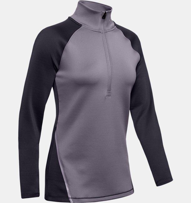 Womens ColdGear® Armour ½ Zip Colour Block