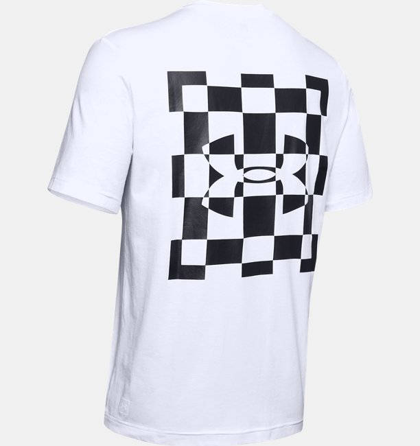 Mens UA Always On Racing Flag Graphic T-Shirt