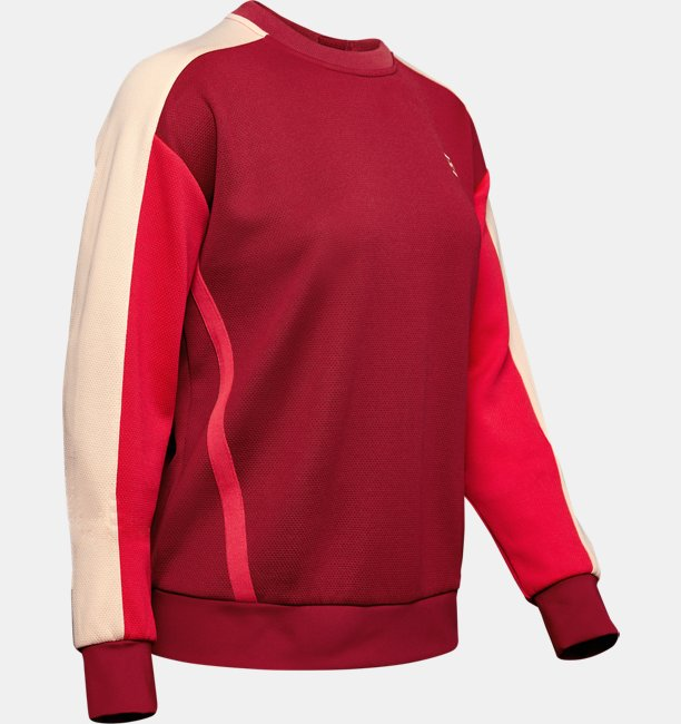 Womens UA Always On Double Knit Crew