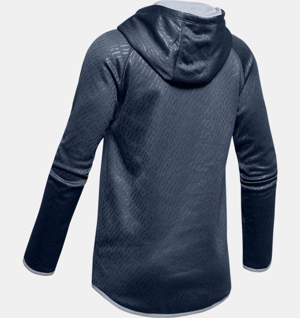 Girls Armour Fleece® Emboss Hoodie