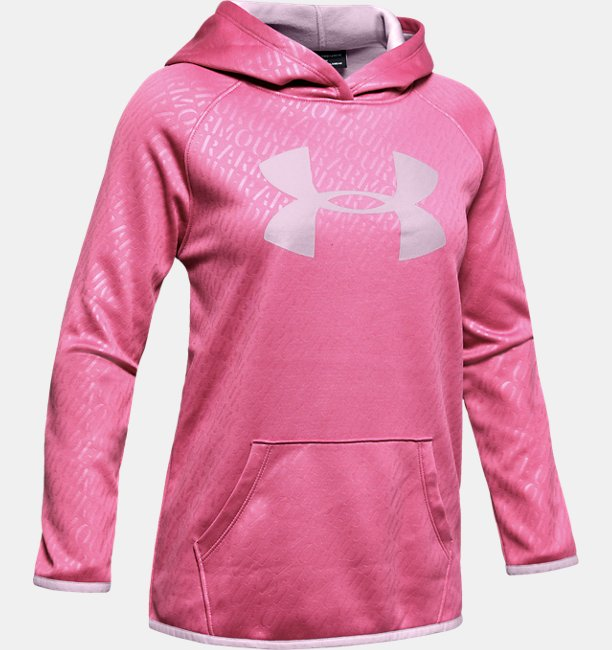 Girls Armour Fleece® Emboss Hoodie