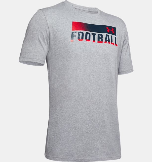 Camiseta UA Football Fade Masculina