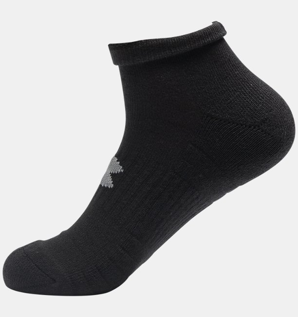 Adult UA Training Cotton Lo Cut Socks 3-Pack