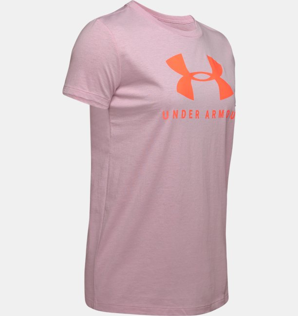 Womens UA Graphic Sportstyle Classic Crew