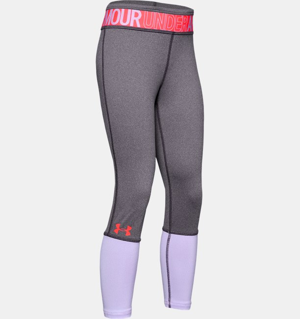 Calzas HeatGear® Armour Heather para Niña