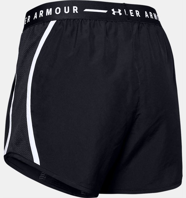 Womens UA Fly-By Exposed Shorts