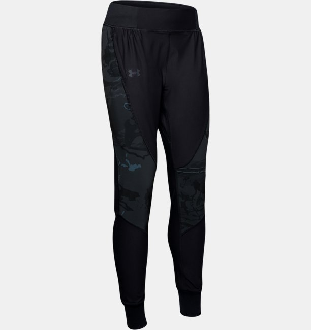 Womens UA Qualifier Camo Pants