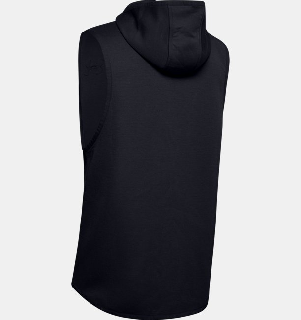 Mens UA Unstoppable Move Light Sleeveless Hoodie