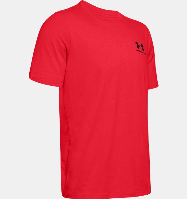 Mens UA Sportstyle LC Back T-Shirt