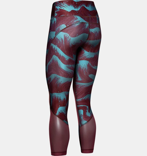 Womens HeatGear® Armour Mesh Print Ankle Crop