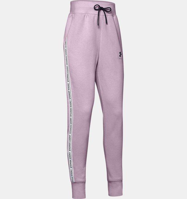 Girls UA Sportstyle Fleece Pants