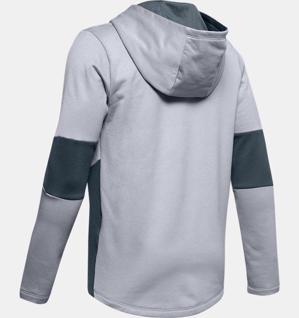 Sudadera con capucha y cremallera completa UA Game Time para niño