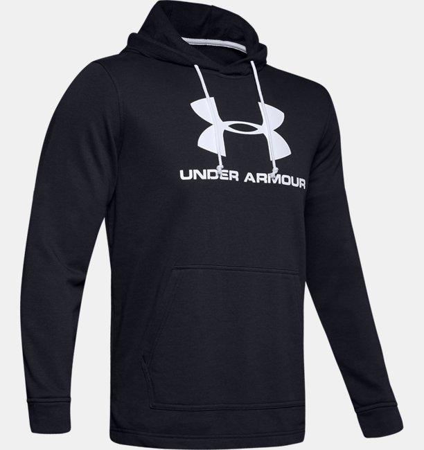 Herenhoodie UA Sportstyle Terry Logo