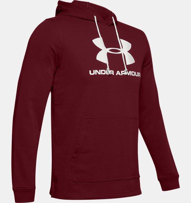 Mens UA Sportstyle Terry Logo Hoodie