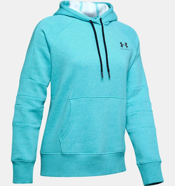 Womens UA Rival Fleece LC Logo Novelty Hoodie