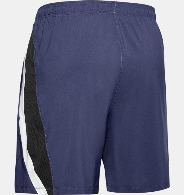 Mens UA Launch SW Branded 13cm Shorts