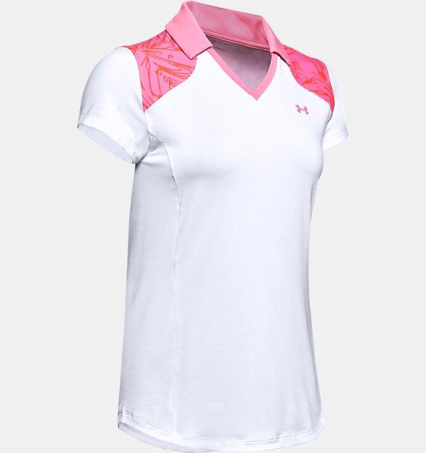 Kadın UA Zinger Blocked Polo