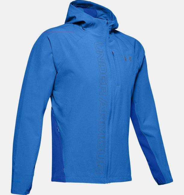 Mens UA Qualifier Outrun The Storm Jacket