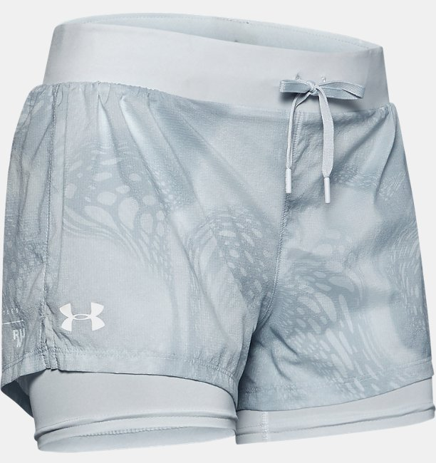 Womens UA Speedpocket Weightless 2-in-1 Shorts