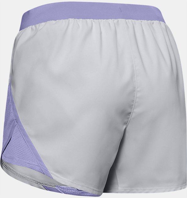 Womens UA Fly-By 2.0 Wordmark Shorts