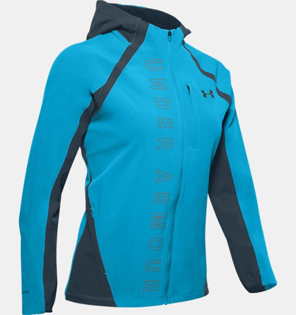 Womens UA Qualifier OutRun The Storm Jacket