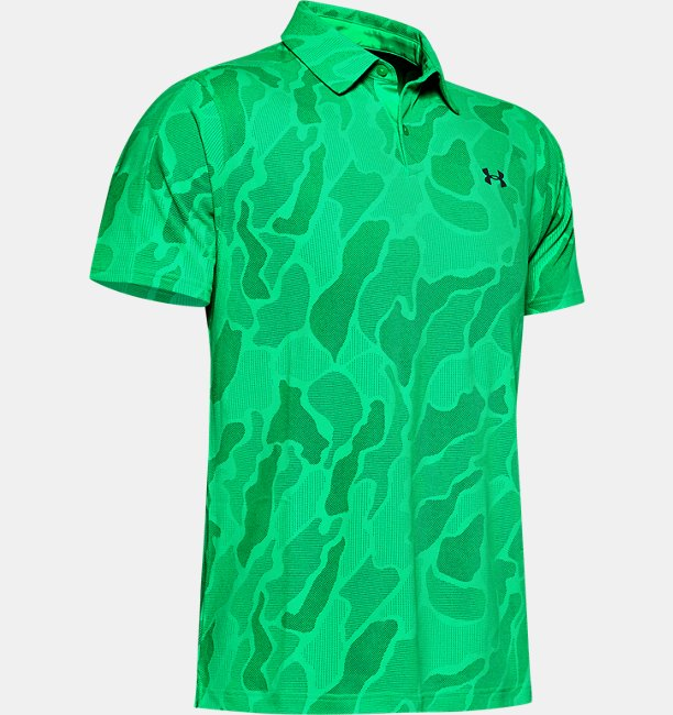 Mens UA Vanish Jacquard Polo