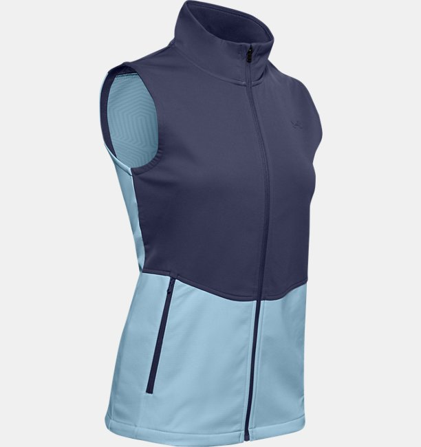 Womens UA Soft Shell Vest