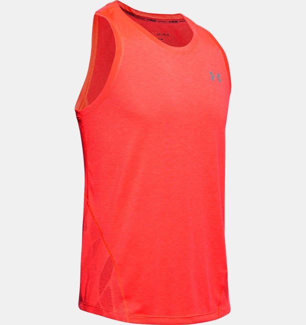 Mens UA Streaker 2.0 Shift Singlet