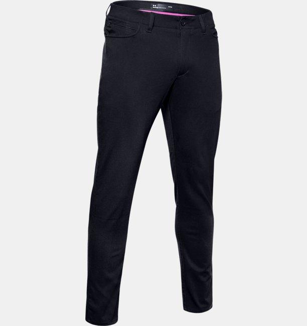 Mens UA Range Unlimited Slim Taper Five-Pocket Trousers