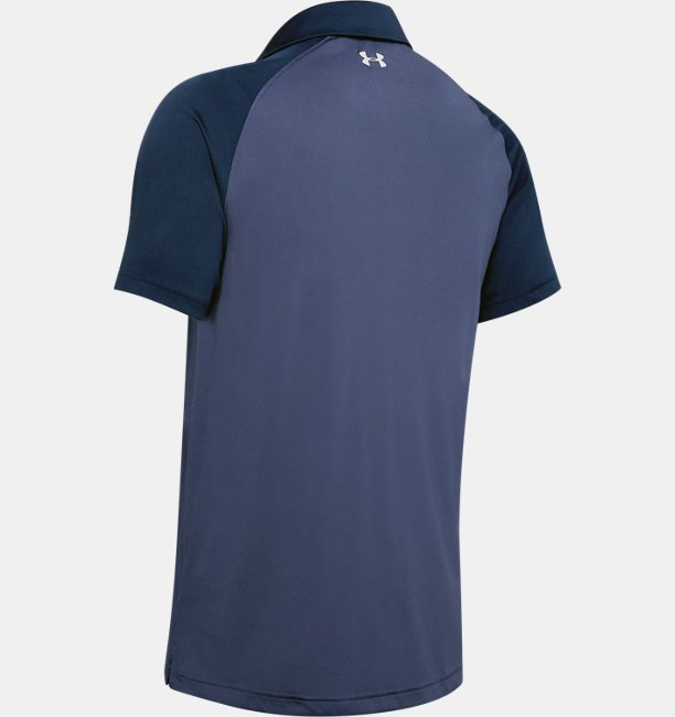 Mens UA Vanish Chest Stripe Polo
