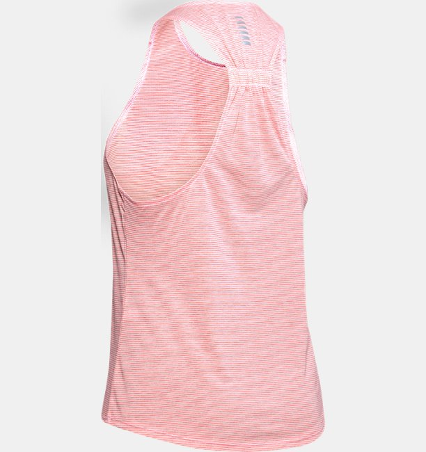 Womens UA Streaker White Out Tank