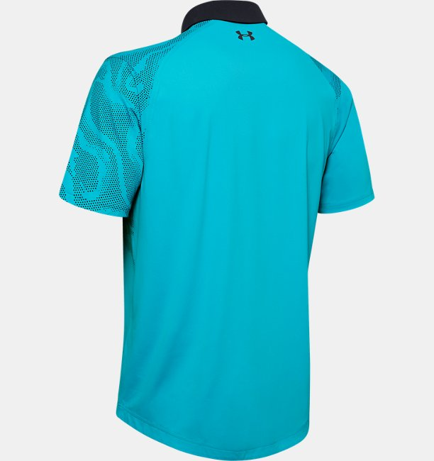Polo UA Iso-Chill Shadow pour homme