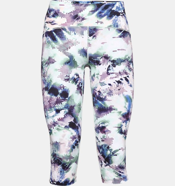 Womens UA Fly Fast Printed Capri