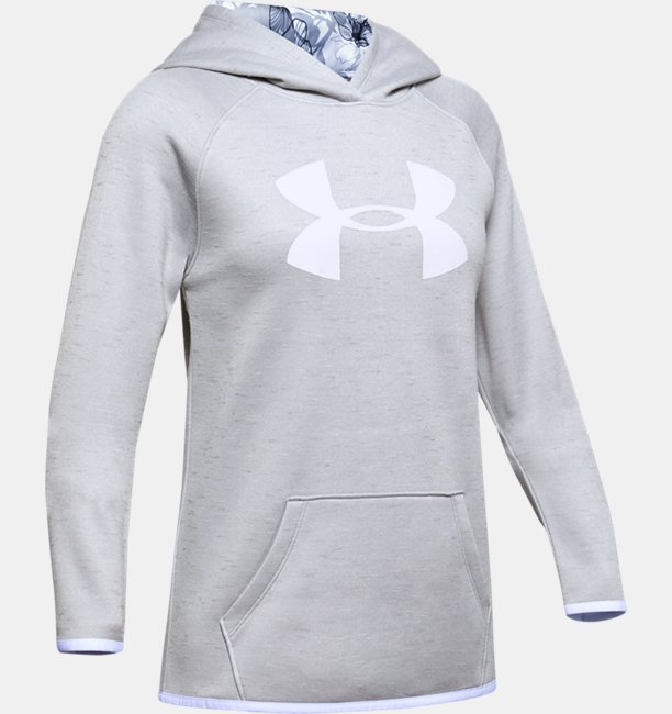 Girls Armour Fleece® Big Logo Twist Hoodie