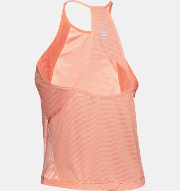 Womens UA Qualifier Iso-Chill Weightless Tank
