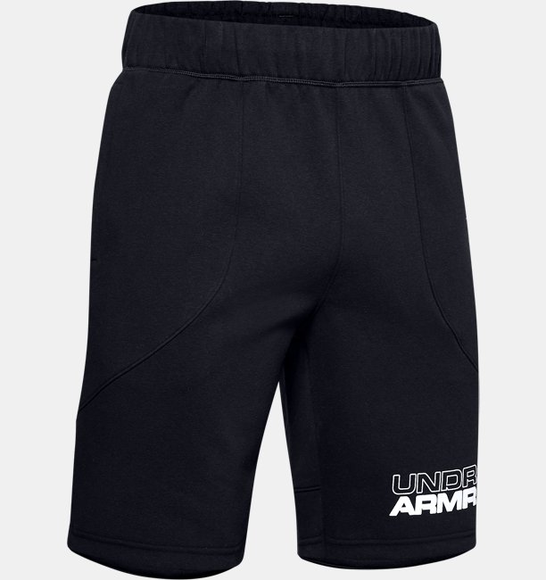 Mens UA Baseline Fleece Shorts