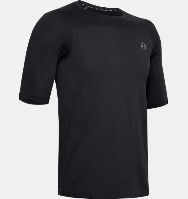 Mens UA RUSH™ Seamless Compression Short Sleeve
