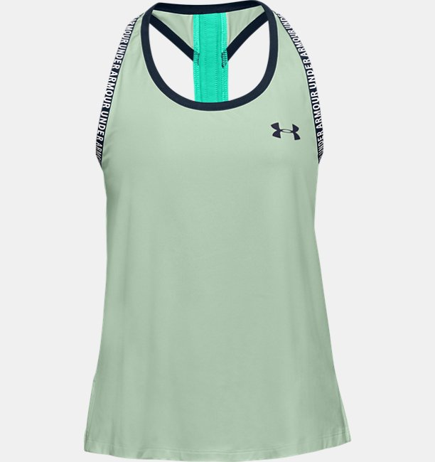 Girls UA Knockout Tank