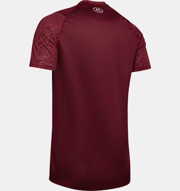 Mens UA MK-1 Jacquard Short Sleeve