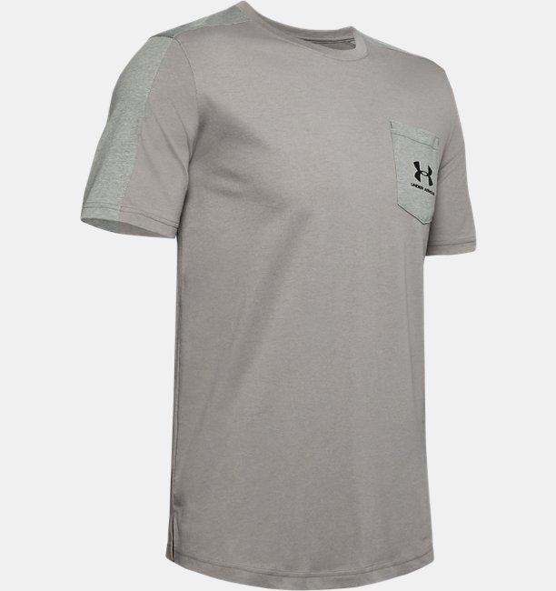 Mens UA Sportstyle Short Sleeve
