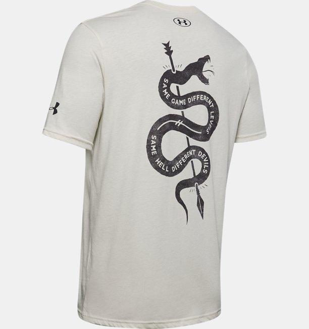 Mens Project Rock Snake Short Sleeve