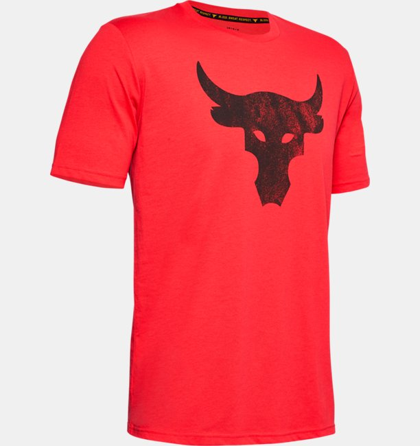 Mens Project Rock Brahma Bull Short Sleeve