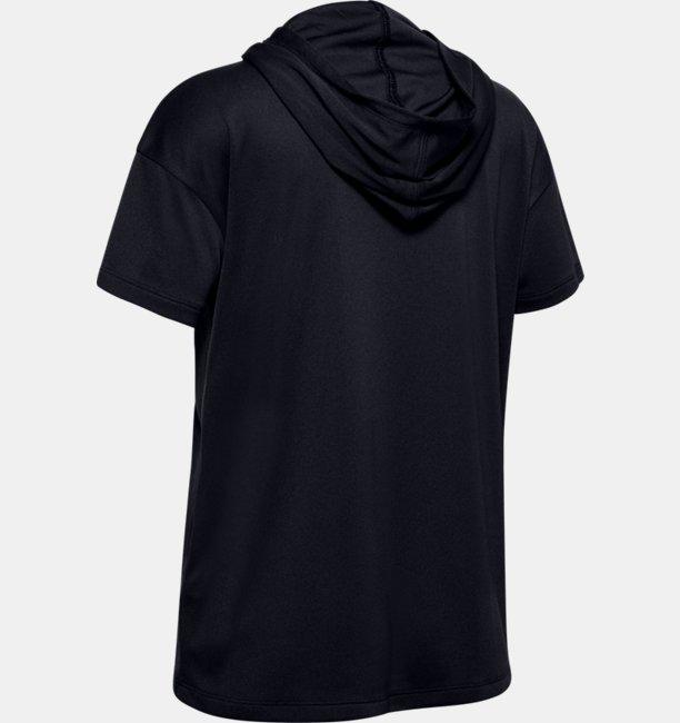 Girls UA Tech™ Short Sleeve Hoodie
