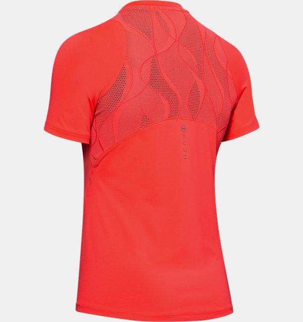 T-shirt à manches courtes UA RUSH™ Vent pour femme