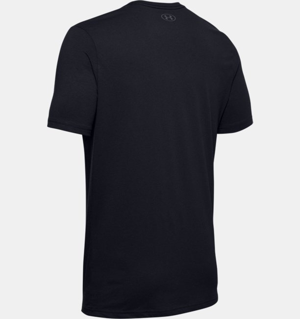 Mens UA Sportstyle Clear Logo Short Sleeve